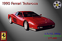 /images/133/2006-03-testarossa-pro1.jpg - #02852: red 1990 Ferrari Testarossa at Paragon Motorcars … March 2006 -- Centennial, Colorado