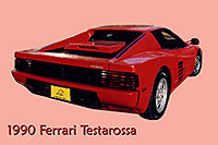 /images/133/2006-03-testarossa-pro3.jpg - #02858: red 1990 Ferrari Testarossa at Paragon Motorcars … March 2006 -- Centennial, Colorado