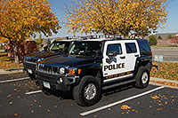 /images/133/2006-09-30-lonetree04.jpg - #02876: Police Hummers in Lone Tree … Sept 2006 -- Yosemite Rd, Lone Tree, Colorado