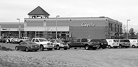 /images/133/2006-10-06-lone-chipotle-bw.jpg - #02932: Chipotle Mexican restaurant in Lone Tree … Oct 2006 -- Lincoln Rd, Lone Tree, Colorado