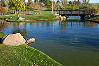 /images/133/2006-10-07-lone-merid-lake2.jpg - #02948: Meridian pond in Lone Tree … Oct 2006 -- Lincoln Rd, Englewood, Colorado