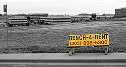 /images/133/2006-10-08-cent-bench.jpg - #02949: bench in Centennial … Oct 2006 -- Centennial, Colorado