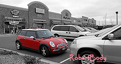 /images/133/2006-10-08-cent-mini04.jpg - #02980: red Cooper Mini in Centennial … Oct 2006 -- Centennial, Colorado