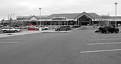 /images/133/2006-10-08-lone-safeway-bw.jpg - #02982: Safeway at Yosemite and Lincoln in Lone Tree … Oct 2006 -- Yosemite Rd, Lone Tree, Colorado