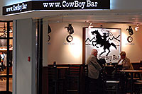 /images/133/2006-10-22-den-concourseb07.jpg - #03091: Cowboy Bar at in Concourse A at Denver airport … Oct 2006 -- Denver, Colorado