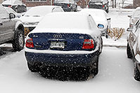 /images/133/2006-12-02-rem-view04.jpg - #03186: blue Audi A4 at Remington in Lone Tree … Dec 2006 -- Remington, Lone Tree, Colorado