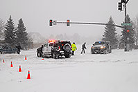 /images/133/2006-12-20-lone-lincoln03.jpg - #03217: Police directing traffic on Lincoln Rd … Dec 2006 -- Lincoln Rd, Lone Tree, Colorado