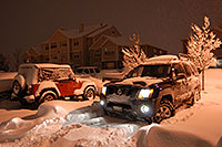 /images/133/2006-12-28-rem-night02.jpg - #03285: red Jeep Wrangler at Remington residence … Dec 2006 -- Remington, Lone Tree, Colorado