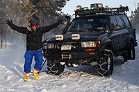 /images/133/2007-01-07-miners-marvin01.jpg - #03311: offroading in Trigger at Miner`s Candle … Jan 2007 -- Miner`s Candle, Idaho Springs, Colorado