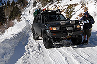 /images/133/2007-01-07-miners-marvin02.jpg - #03308: offroading in Trigger at Miner`s Candle … Jan 2007 -- Miner`s Candle, Idaho Springs, Colorado