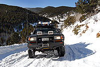 /images/133/2007-01-07-miners-view02.jpg - #03320: offroading in Trigger at Miner`s Candle … Jan 2007 -- Miner`s Candle, Idaho Springs, Colorado