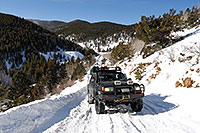 /images/133/2007-01-07-miners-view07.jpg - #03325: offroading in Trigger at Miner`s Candle … Jan 2007 -- Miner`s Candle, Idaho Springs, Colorado