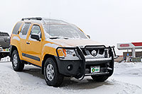 /images/133/2007-01-12-go-xterras03.jpg - #03336: yellow Nissan Xterra at GO Nissan on Arapahoe Rd … Jan 2007 -- Go Nissan, Englewood, Colorado