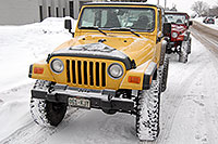 /images/133/2007-01-12-lithia-jeeps01.jpg - #03341: red and yellow Jeep Wranglers at Lithia Jeep … Jan 2007 -- Lithia Jeep, Englewood, Colorado