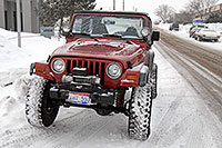 /images/133/2007-01-12-lithia-jeeps03.jpg - #03343: red and yellow Jeep Wranglers at Lithia Jeep … Jan 2007 -- Lithia Jeep, Englewood, Colorado
