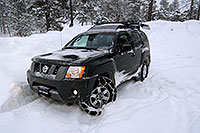 /images/133/2007-01-21-sed-xterra04.jpg - #03363: my Xterra with a single snowchain in a snowstorm by Sedalia … Jan 2007 -- Sedalia, Colorado