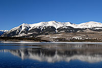 /images/133/2007-01-28-elbert-view2.jpg - #03425: reflection of Mt Elbert in Mt Elbert Forebay … Jan 2007 -- Mt Elbert Forebay, Twin Lakes, Colorado