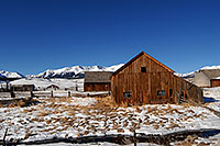 /images/133/2007-01-28-lead-shacks2.jpg - #03433: shacks south of Leadville, in neighborhood of Mt Elbert … Jan 2007 -- Leadville, Colorado