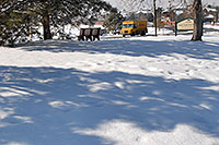 /images/133/2007-02-14-lone-lib-parkdhl.jpg - #03477: yellow DHL truck on delivery by Cook Creek Park next to Lone Tree library … Feb 2007 -- Lone Tree, Colorado