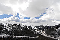 /images/133/2007-04-01-loveland-i70-02.jpg - #03649: view of I-70 and Eisenhower Tunnel from Loveland Pass … April 2007 -- Eisenhower Tunnel, Colorado