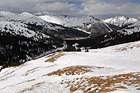 /images/133/2007-04-01-loveland-i70-03.jpg - #03650: view of I-70 from east face of Loveland Pass … April 2007 -- Loveland Pass, Colorado