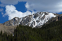/images/133/2007-06-22-plata-road02.jpg - #03997: La Plata Peak from Independence Pass Road … June 2007 -- La Plata Peak, Colorado