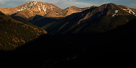 /images/133/2007-06-24-plata-eve-pano.jpg - #04044: La Plata Peak on the left … June 2007 -- La Plata Peak, Colorado