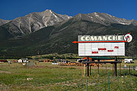 /images/133/2007-06-25-princ-comanche01.jpg - #04068: Comanche Cinema - images of Mt Princeton … June 2007 -- Mt Princeton, Colorado