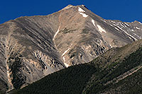 /images/133/2007-06-25-princ-view02-close.jpg - #04073: Closeup view of Mt Princeton from Buena Vista … June 2007 -- Mt Princeton, Colorado
