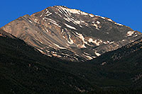 /images/133/2007-06-25-yale-view-close.jpg - #04073: Closeup view of Mt Yale from I-24 near Buena Vista … June 2007 -- Mt Yale, Colorado