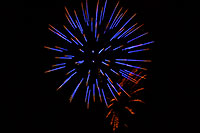/images/133/2007-07-04-lone-fireworks09.jpg - #04120: Independence Day Fireworks - 4th of July in Lone Tree … July 2007 -- Sweetwater Park, Lone Tree, Colorado