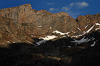 /images/133/2007-07-08-biers-saw-clos3.jpg - #04181: The Sawtooth with highest peak at 13,780 ft … July 2007 -- The Sawtooth, Mt Bierstadt, Colorado