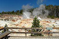 /images/133/2007-07-21-y-kepler-steam03.jpg - #04259: Steamboat Geyser in Kepler Cascades … July 2007 -- Kepler Cascades, Yellowstone, Wyoming