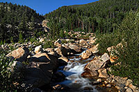 /images/133/2007-08-25-rm-alluvial-8877.jpg - #04561: Roaring River - below the Alluvial Fan in Rocky Mountain National Park … August 2007 -- Alluvial Fan, Rocky Mountain National Park, Colorado