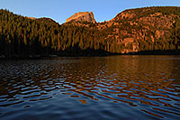 /images/133/2007-09-12-rm-bear-3021.jpg - 04642: Bear Lake (elev 9,475 ft) in the morning … Sept 2007 -- Bear Lake, Rocky Mountain National Park, Colorado