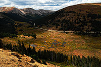 /images/133/2007-09-15-indep-rd-3507.jpg - #04655: View towards Aspen from Independence Pass … Sept 2007 -- Independence Pass, Colorado