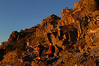 /images/133/2008-03-03-squaw-2537.jpg - #04851: Hikers at Squaw Peak Mountain in Phoenix … March 2008 -- Squaw Peak, Phoenix, Arizona