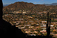/images/133/2008-03-09-camelback-3742.jpg - #04866: View North from Camelback Mountain in Phoenix … March 2008 -- Camelback Mountain, Phoenix, Arizona
