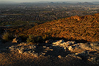 /images/133/2008-03-14-southm-4155.jpg - #04892: View North at Phoenix from South Mountain … March 2008 -- South Mountain, Phoenix, Arizona