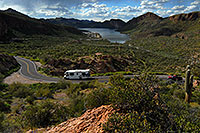 /images/133/2008-03-16-supers-4618.jpg - #04911: Canyon Lake in Superstitions … March 2008 -- Apache Trail Road #2, Superstitions, Arizona
