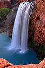 /images/133/2008-03-23-hav-havasu-5623v.jpg - #04954: Havasu Falls - 120 ft drop (37 meters) … March 2008 -- Havasu Falls!, Havasu Falls, Arizona
