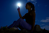 /images/133/2008-09-16-squaw-kseniya-27364.jpg - #05881: Kseniya in moonlight … September 2008 -- Squaw Peak, Phoenix, Arizona