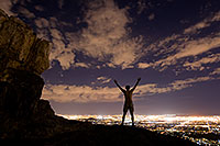 /images/133/2008-09-20-squaw-night-me-29176.jpg - 05890: Night at Squaw Peak … September 2008 -- Squaw Peak, Phoenix, Arizona