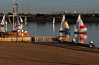 /images/133/2008-10-19-tempe-sailboats-36349.jpg - #05957: Sailboats by North Bank Boat Landing at Tempe Town Lake … October 2008 -- Tempe Town Lake, Tempe, Arizona