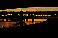 /images/133/2008-11-13-tempe-fishing-46608.jpg - #06031: Fishing by Mill Road bridge at Tempe Town Lake … November 2008 -- Tempe Town Lake, Tempe, Arizona