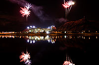 /images/133/2008-11-28-tempe-fireworks-56691.jpg - #06238: ASU football fireworks over Tempe Town Lake … November 2008 -- Tempe Town Lake, Tempe, Arizona