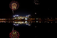 /images/133/2008-11-28-tempe-fireworks-56817.jpg - #06245: ASU football fireworks over Tempe Town Lake … November 2008 -- Tempe Town Lake, Tempe, Arizona