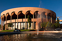 /images/133/2008-11-30-asu-fountain-58066.jpg - #06274: Gammage Auditorium at ASU … November 2008 -- Arizona State University, Tempe, Arizona