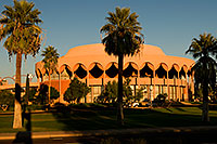 /images/133/2008-11-30-asu-fountain-58268.jpg - #06281: Gammage Auditorium at ASU … November 2008 -- Arizona State University, Tempe, Arizona