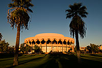 /images/133/2008-11-30-asu-fountain-58280.jpg - #06285: Gammage Auditorium at ASU … November 2008 -- Arizona State University, Tempe, Arizona